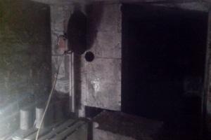 Снос бетонной стены