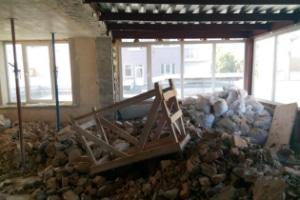 Стон бетонных стен в доме
