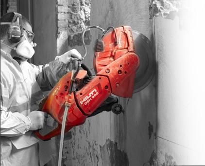 Оборудование для резки проемов в бетонных стенах